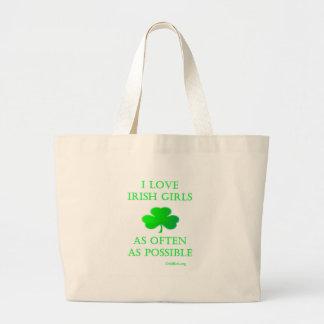 Chicas irlandeses bolsa