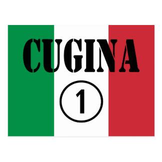 Chicas italianos de los primos: Uno de Cugina Nume Postal