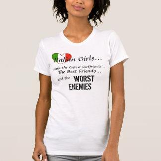 Chicas italianos camisetas