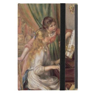 Chicas jóvenes en el piano, 1892 iPad mini coberturas