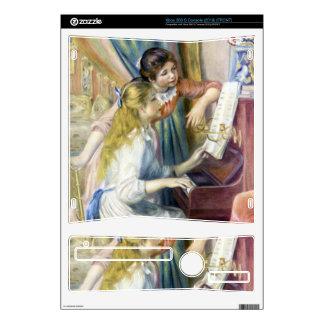 Chicas jóvenes en el piano de Pedro Renoir Consola Xbox 360 S Skin