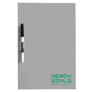 Chicas Nerdy 2 Tableros Blancos