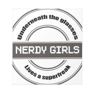 Chicas Nerdy Libretas Para Notas
