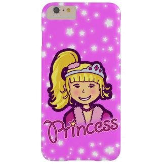 Chicas nombrados caso del iphone del rosa de la funda barely there iPhone 6 plus