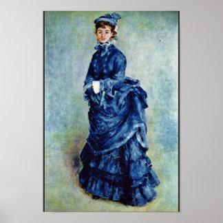 Chicas parisienses (la señora In Blue) por Pedro-A Posters