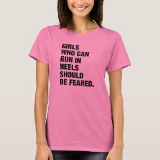CHICAS que pueden correr en camiseta de los