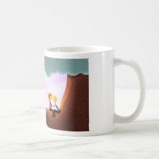 """Chicas que se besan en árbol - """"venga aquí """" taza de café"""