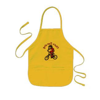 Chicas rojos claros BMX Delantal Infantil