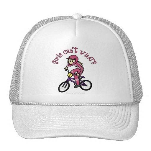 Chicas rosas claros BMX Gorras De Camionero