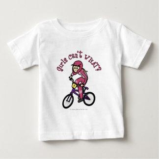 Chicas rosas claros BMX Remera