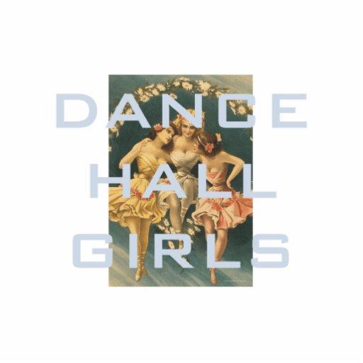 Chicas SUPERIORES de pasillo de danza Esculturas Fotograficas