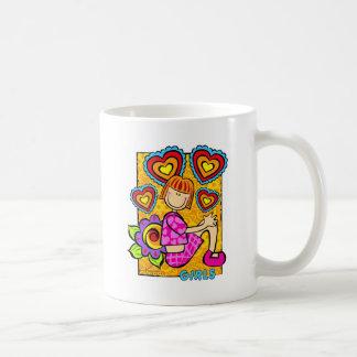 ¡Chicas! Tazas De Café