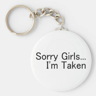 Chicas tristes Im tomado Llaveros Personalizados
