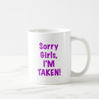 Chicas tristes Im tomado Tazas De Café