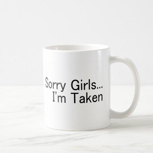Chicas tristes Im tomado Tazas