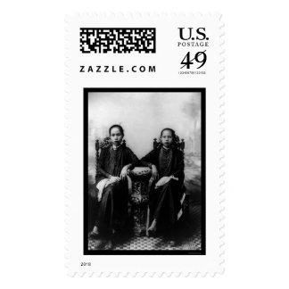 Chicas vietnamitas 1903 sellos