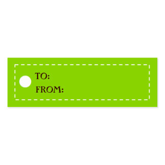 CHICEST GIFT TAGS - Customized Mini Business Card