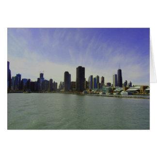 Chicgo Skyline Card