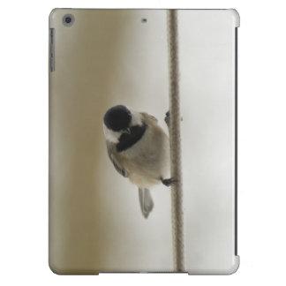 Chichadee adorable en una cuerda funda para iPad air