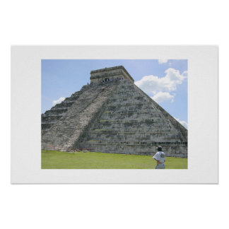 Chichén Itzá 6 Poster