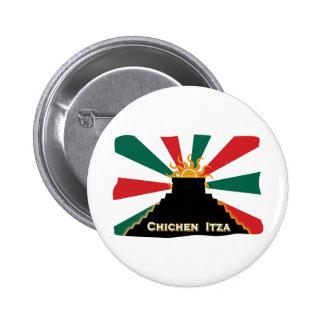 Chichen Itza Pinback Buttons