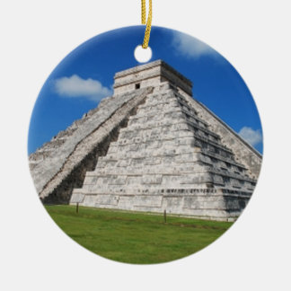 Chichen Itza Ceramic Ornament