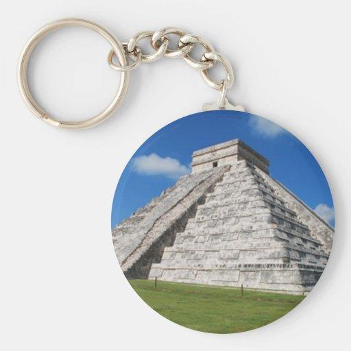 Chichen Itza Keychain
