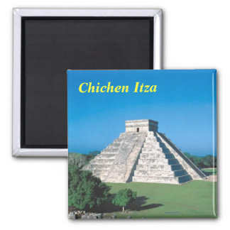 Chichen Itza kitchen magnet
