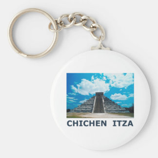 Chichen Itza Llavero Redondo Tipo Pin