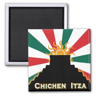 Chichen Itza Fridge Magnet