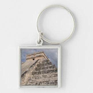 Chichen Itza Mayan Ruin in Mexico Keychain