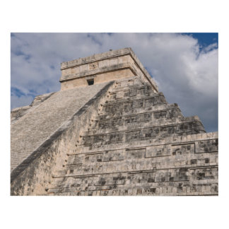 Chichen Itza Mayan Ruin in Mexico Panel Wall Art