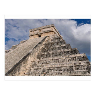 Chichen Itza Mayan Ruin in Mexico Postcard