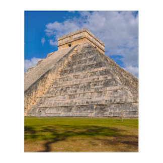 Chichen Itza Mayan Temple in Mexico Acrylic Print