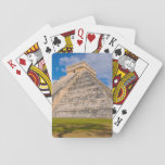 "Chichen Itza Mayan Temple in Mexico Playing Cards<br><div class=""desc"">Chichen Itza Mayan Temple in Mexico</div>"