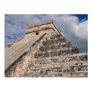 Chichen Itza Mayan Temple in Mexico Postcard