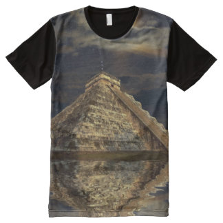 Chichen Itza Mayan Temple of the Sacred Moon All-Over Print Shirt