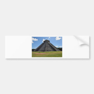 Chichen Itza Mexico Kukulkan Pyramid 7 Wonders Bumper Sticker
