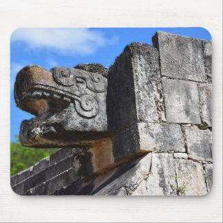 Chichen Itza Mexico Kukulkan Waxaklahun Ubah Kan Mouse Pad