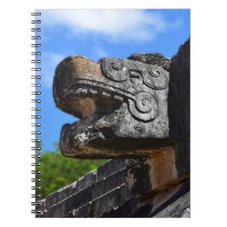 Chichen Itza México Kukulkan Waxaklahun Ubah Kan Spiral Notebooks
