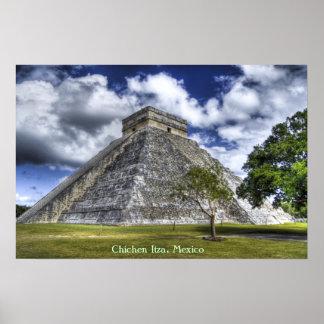Chichen Itza, Mexico Poster