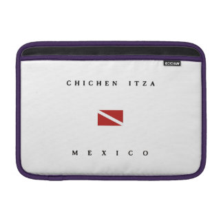 Chichen Itza Mexico Scuba Dive Flag MacBook Sleeves