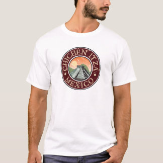 Chichen Itza Mexico Shirts