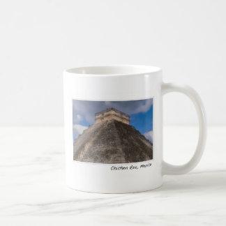 Chichen Itza Modern Seven Wonders of the World in Coffee Mug