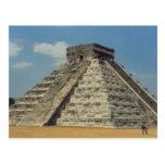 Chichen Itza Post Card