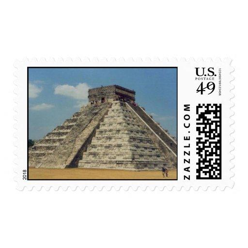Chichen Itza Postage Stamps