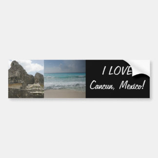 Chichen Itza Ruin Bumper Sticker