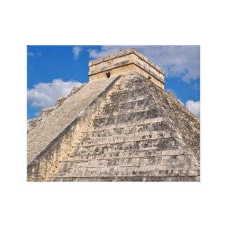 Chichen Itza Ruins in Mexico Canvas Print