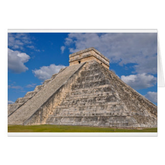 Chichen Itza Ruins in Mexico Card