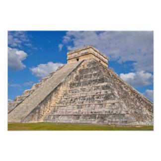 Chichen Itza Ruins in Mexico Photo Print